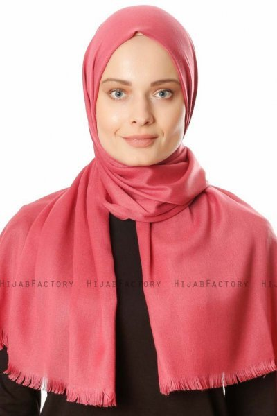 Ece - Hijab Pashmina Antique Rose