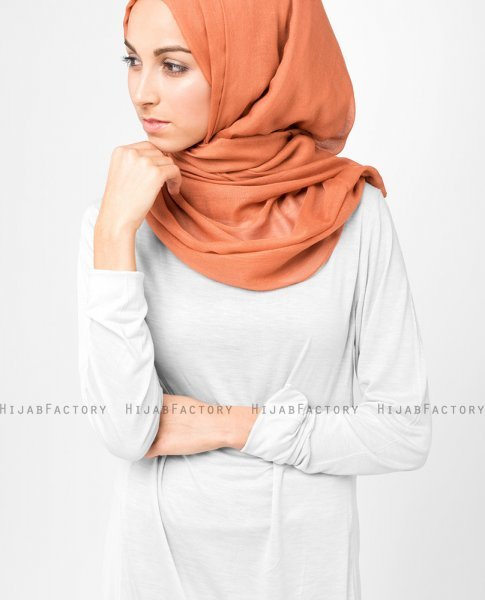 InEssence - Ginger Spice Viscose Hijab From Silk Route